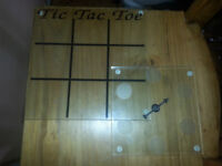 Tic Tac Toe and Spin game played with shooter glasses=AIRDRIE