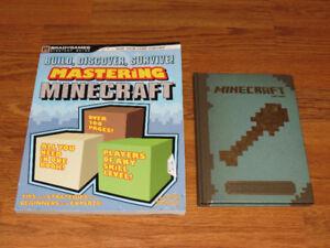 Minecraft Book Lot Mastering Minecraft & Construction Handbook