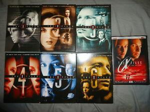 THE XFILES SEASONS 1-6 PLUS MOVIE