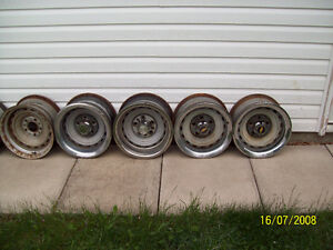 GM – General Motors Rally Wheels & Standard Rims - Variety