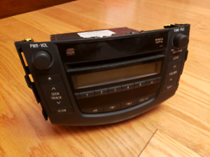 Rav4 OEM CD changer radio