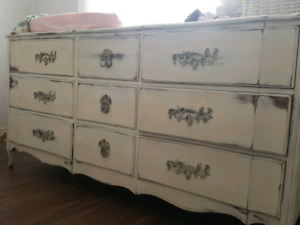 Commode antique style shabby chic
