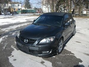2007 Mazda MAZDASPEED3 GT Hatchback CERTIFIED 1YEAR WARRANTY!!!