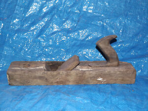 ANTIQUE RUSTIC COUNTRY PLANE ALL WOOD WITH GREAT PATINA!