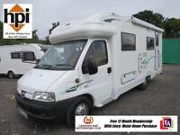 Autocruise Star Stream 3 Berth Motor Home