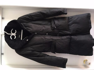 DKNY down-filled long winter coat in great condition