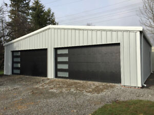 STEEL BUILDINGS AND FOUNDATIONS