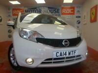 2014 Nissan Note ACENTA(ONLY 20.00 ROAD TAX) (ONLY (40484 MILES) FREE MOTS AS LO