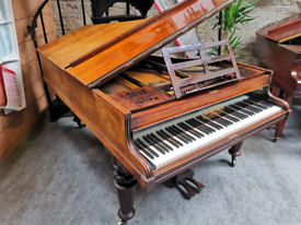 Victorian John Broadwood & Son's Cottage Grand Piano - CAN DELIVER