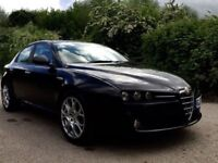 Alfa Romeo 159 1.9 black with red leather interior best combination