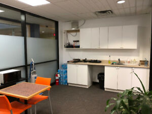 Downtown Montreal Office Space Fauboug St. Catherine