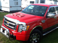 2013 Ford F-150 Red Pickup Truck