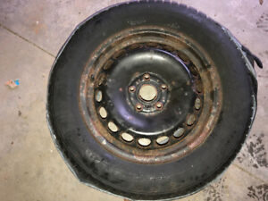 4 Winter tires on rims for sale