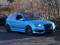 2007 (07) Audi S3 2.0 TFSI Quattro 3dr Finished in SATIN METTALIC BLUE WRAP
