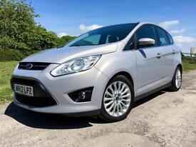 Ford C-MAX 1.6TDCi TITANIUM 2012 Silver Diesel Manual Estate