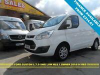 2014 14 FORD TRANSIT CUSTOM 2.2 270 LIMITED LR P/V 5D 125 BHP 2014/14 REG ONLY L