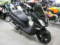 Peugeot Citystar 125cc LC SBC BLACK EDITION Scooter 2017 EURO 4