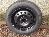 Ford Fusion spare wheel /tyre new 195/60r15