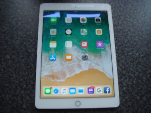 Excellent condition iPad Air 2 Silver WIFI+LTE 128gb