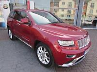 2014 Jeep Grand Cherokee V6 CRD SUMMIT, TOP OF THE RANGE Diesel red Automatic