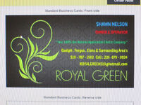 "ROYAL GREEN "" YOUR 100% BIO-NATURAL APPLICATION CHOICE COMPANY """