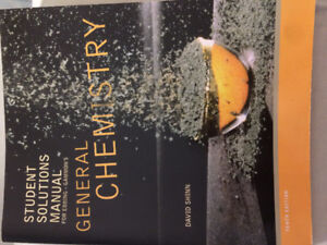 General Chemistry Textbook and Solutions Manual