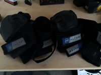 Full set of pads for rollerblading and other sport activities