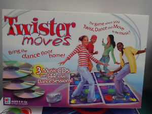 Twister Moves with 3 music CDs game Cornwall Ontario image 1