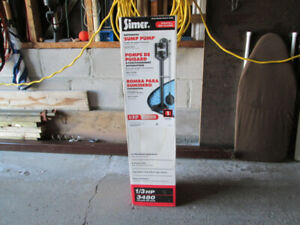 Sump Pump - Never Used