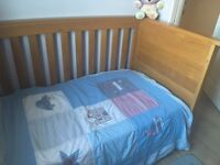Mamas and Papas Ocean Golden Oak Cot Bed