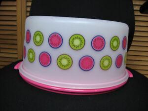 Cloche à gâteau ronde Tupperware neuf