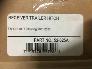 Various motorcycle trailer hitches available