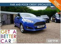 FORD FIESTA 1.5 ZETEC TDCI - 13 REG - 39K - £47 PW - FAIR & BAD CREDIT FINANCE