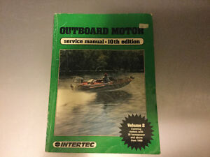 1969-86 Outboard Manual Johnson Evinrude Mercury Mariner Force