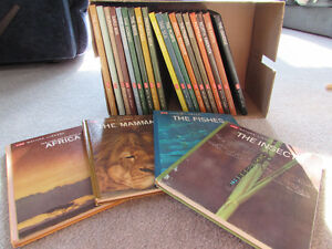 NATURE LIBRARY SET - BY LIFE   23 HARDCOVER BOOKS IN ALL!