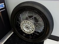 Supermoto wheels kit