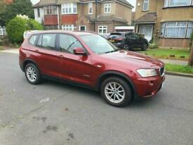 image for BMW X3 AUTOMATIC 2.0 HPI CLEAR FSH GOOD CONDITION SAT NAV SENSOR ONE OWNER FSH