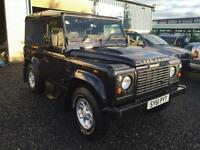 Defender 2.4TDi county hard top @@@ no vat @@@ 2011 61 Reg