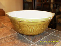 gros bol a mixer style campagne country mixing bowl #3094 Rawdon