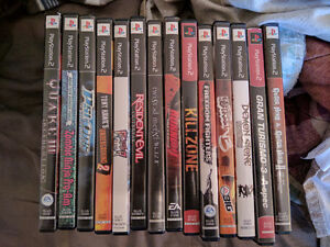 Collection of PS2 games