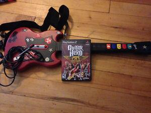 Ps2 Rock Band / Guitar Hero
