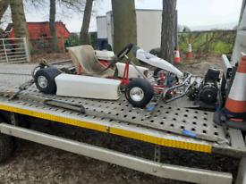Child's go-kart petrol
