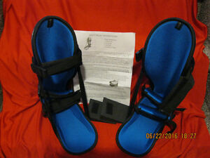 2 Night Splints for Plantar Faciitis. Adult Size And Like New.