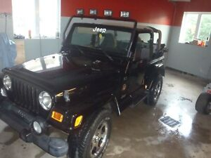 2002 Jeep TJ sahara Coupé (2 portes)