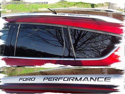 Ford Performance Dachreling Aufkleber Schwarz Tuning  Auto Motorsport Styling