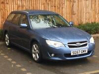 2007 '57' Subaru Legacy 2.0 RE Sports Tourer, Automatic, Petrol, 5 Door Estate.