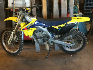 Rmz 450 fuel injected