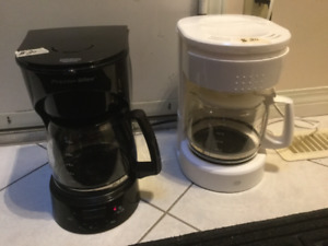 2,  12-cup Coffee Makers, $.15ea or $25 for both