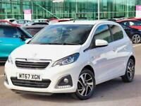 2017 Peugeot 108 1.2 PureTech Allure 5dr Hatchback Petrol Manual