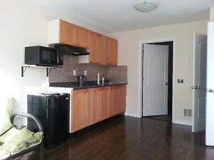 Bachelor unit on the main floor for rent in Newmarket